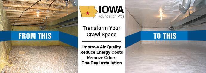 Iowa Crawl Space Encapsulation