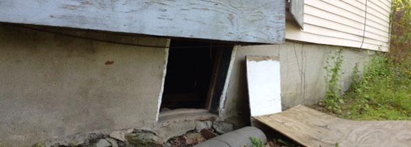 Foundation Settlement Repair
